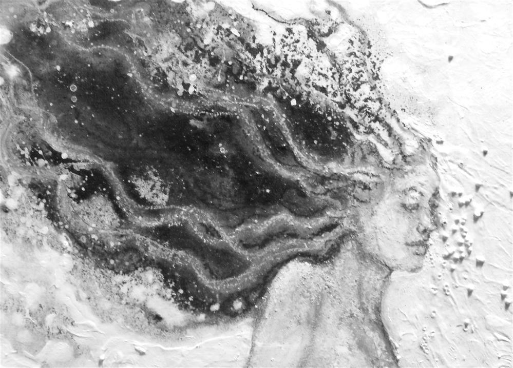 """Dream Maiden"" original fine art by Karen Roncari"