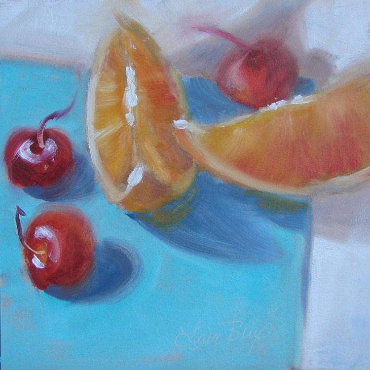 """I Ate It All - 377"" original fine art by Laura  Buxo"