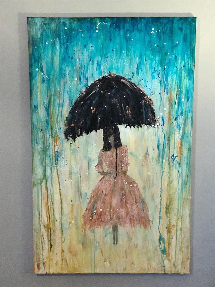 """Rosie Love"" original fine art by Peggy Reeves"
