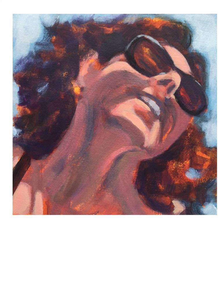 """Selfie Portrait"" original fine art by Suzanne Woodward"