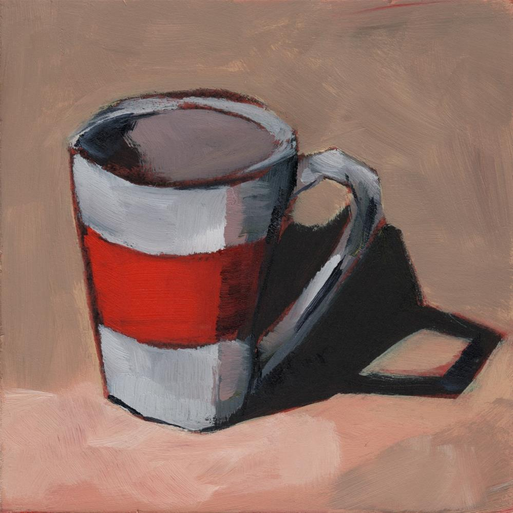 """0275: First Christmas Mug"" original fine art by Brian Miller"
