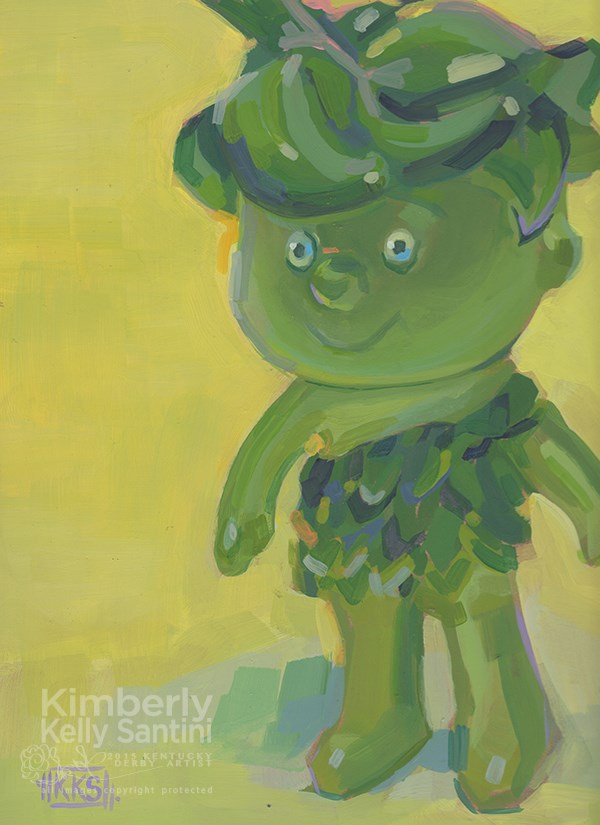 """""""Sprout"""" original fine art by Kimberly Santini"""