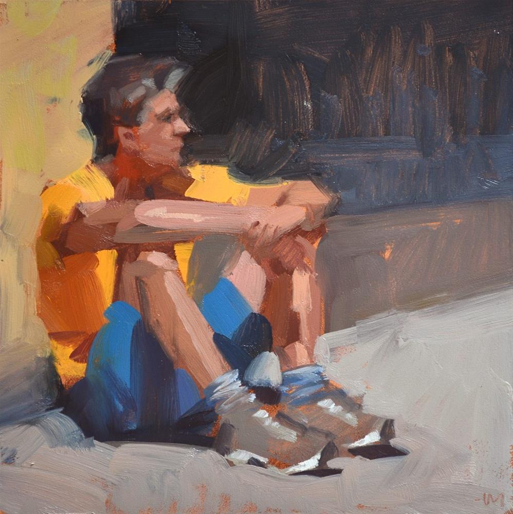 """Observing the Observer"" original fine art by Carol Marine"