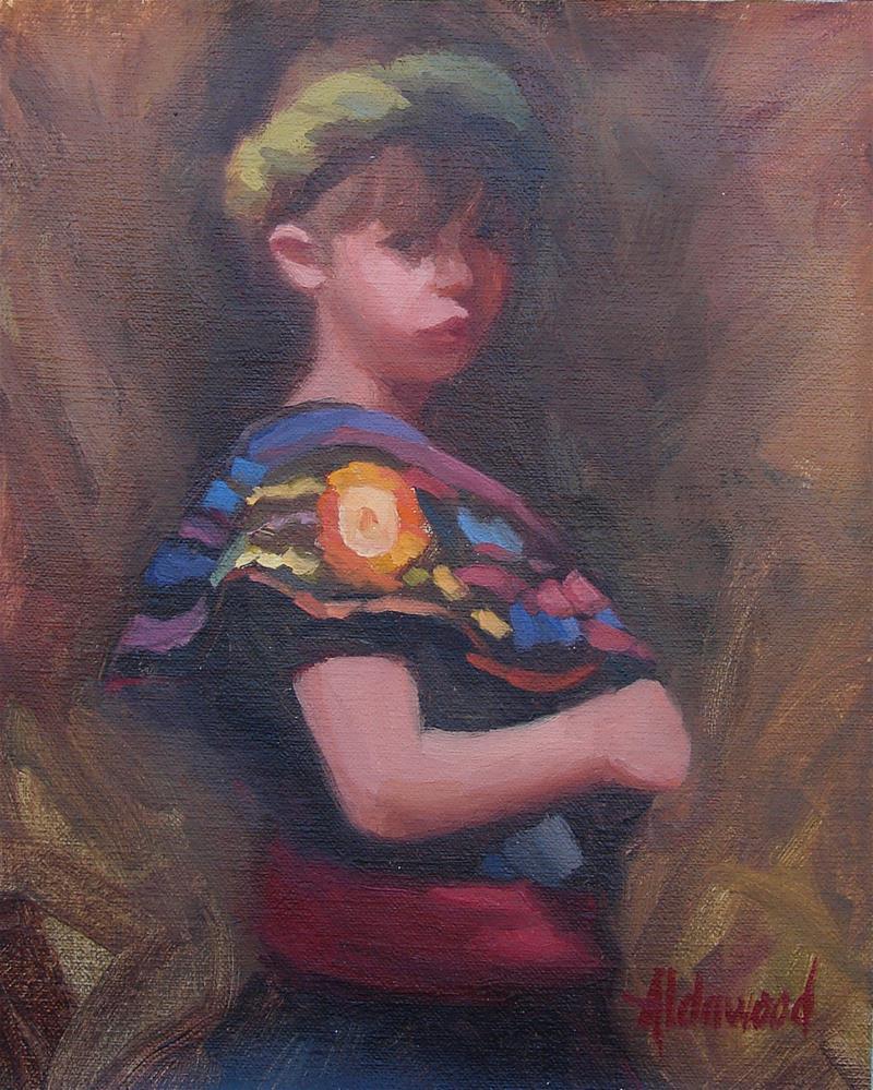 """Little Dancer"" original fine art by Sherri Aldawood"