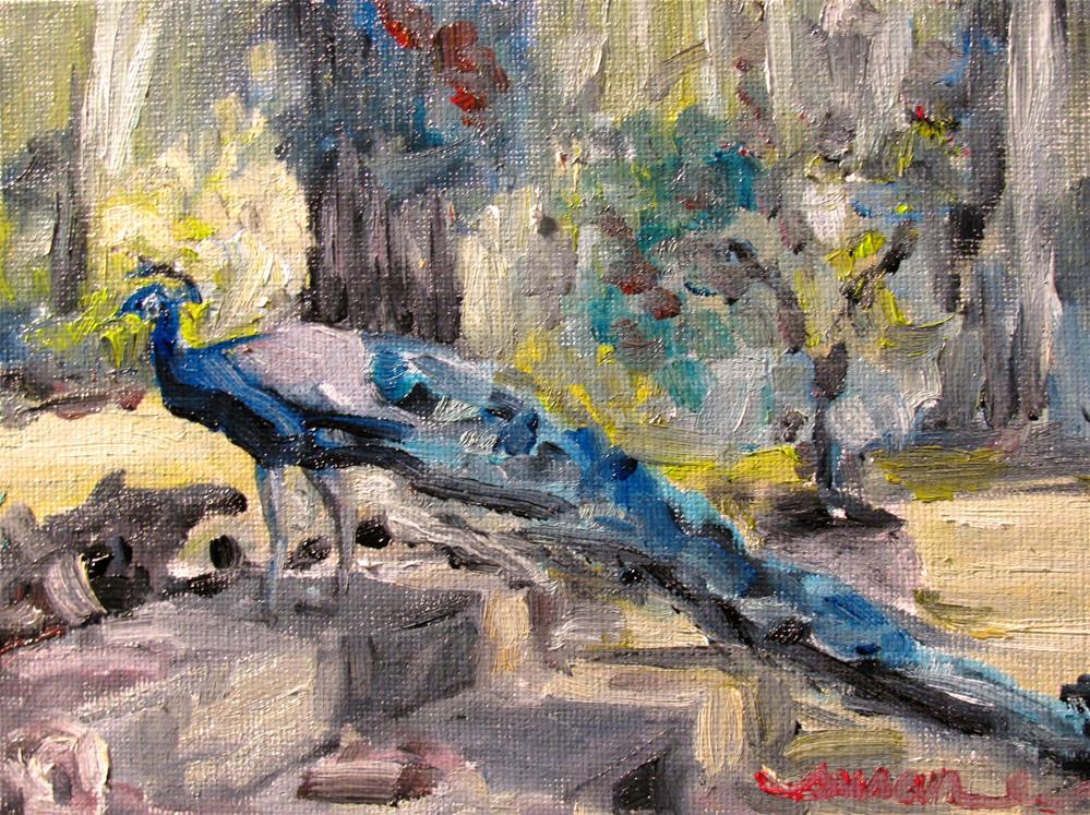 """Isaac of Prospect Hill"" original fine art by Susan Elizabeth Jones"