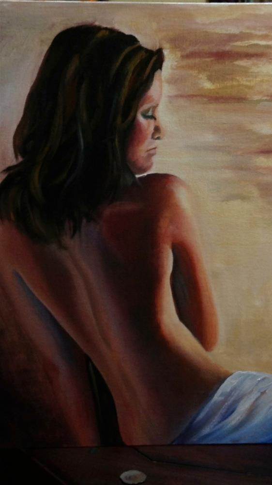 """""""Naked truth"""" original fine art by Ronel Alberts"""