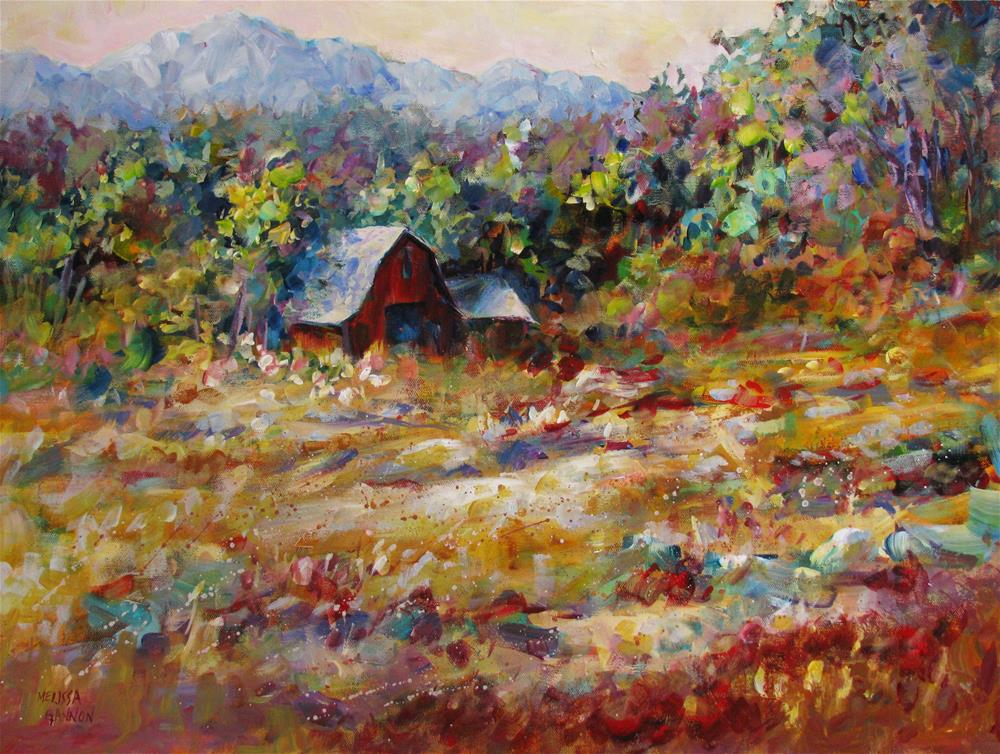 """Late Summer"" original fine art by Melissa Gannon"