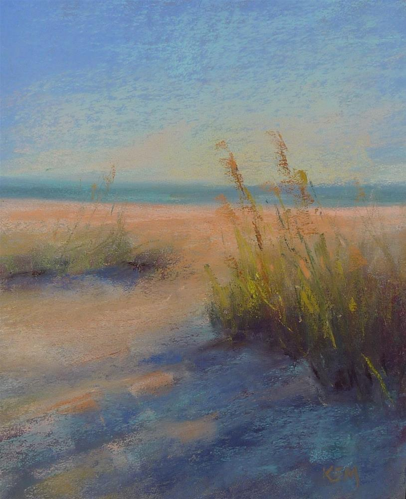 """Dune Shadows"" original fine art by Karen Margulis"