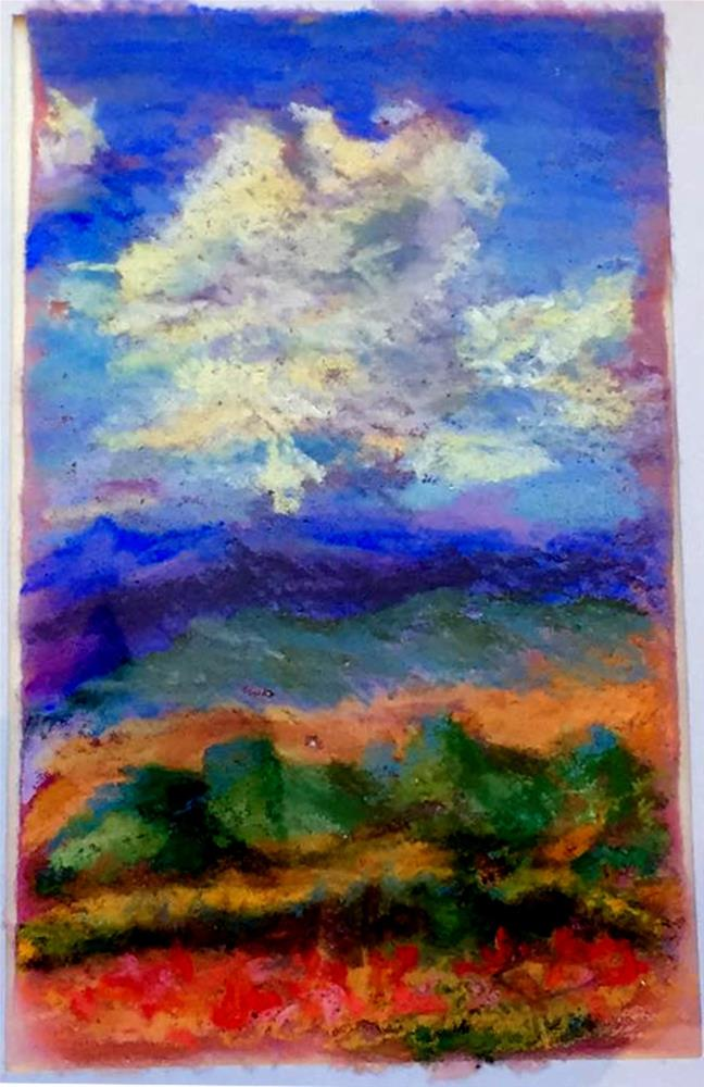 """Big Sky"" original fine art by Kristen Dukat"