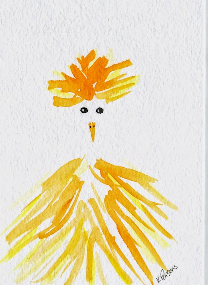 """""""Smile and say, Cheese"""" original fine art by Kali Parsons"""