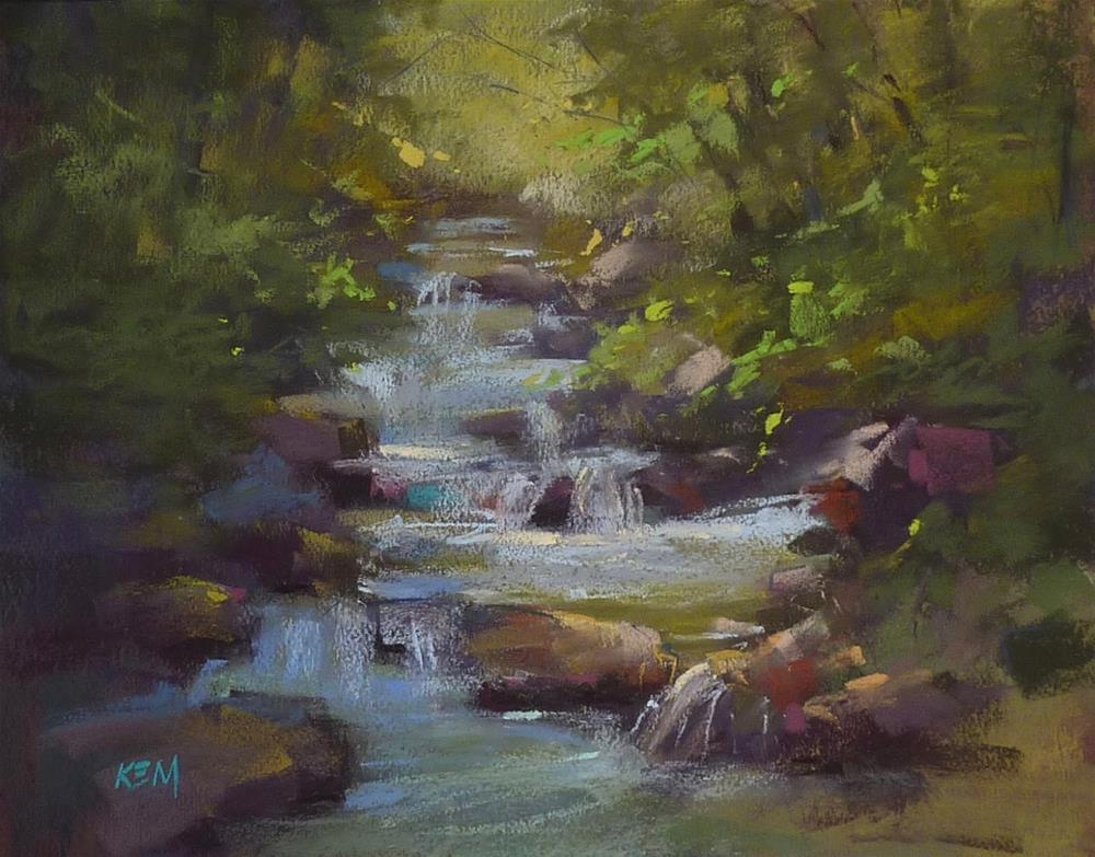 """""""Experience one of my Paint Along Videos!"""" original fine art by Karen Margulis"""