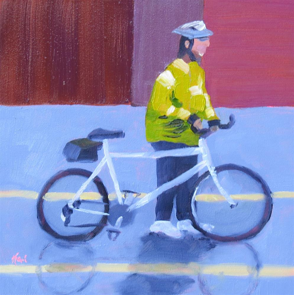 """Safe Crossing"" original fine art by Kari Melen"