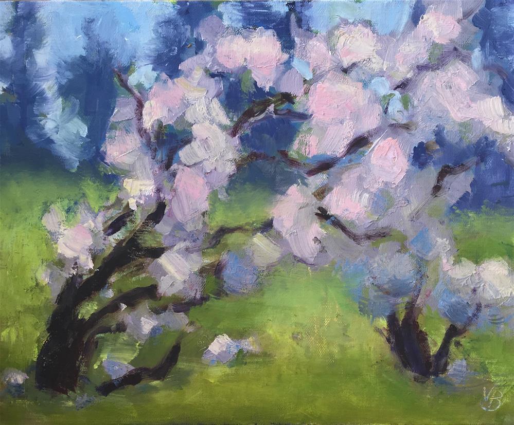 """""""Now, Spring!"""" original fine art by Victoria  Biedron"""