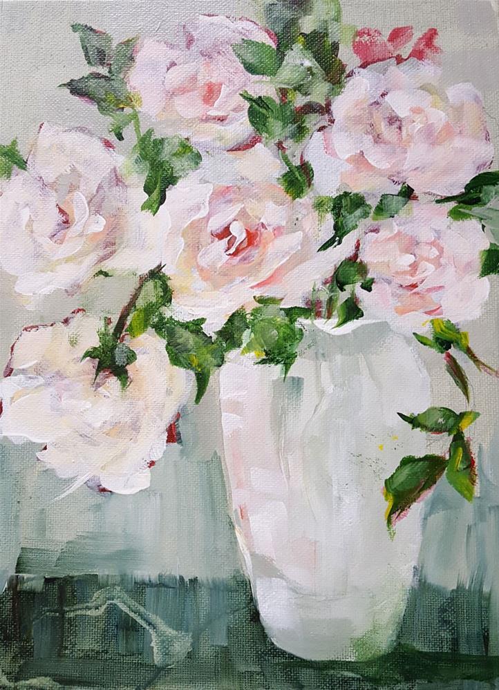 """Sparkle"" original fine art by Sue Dion"