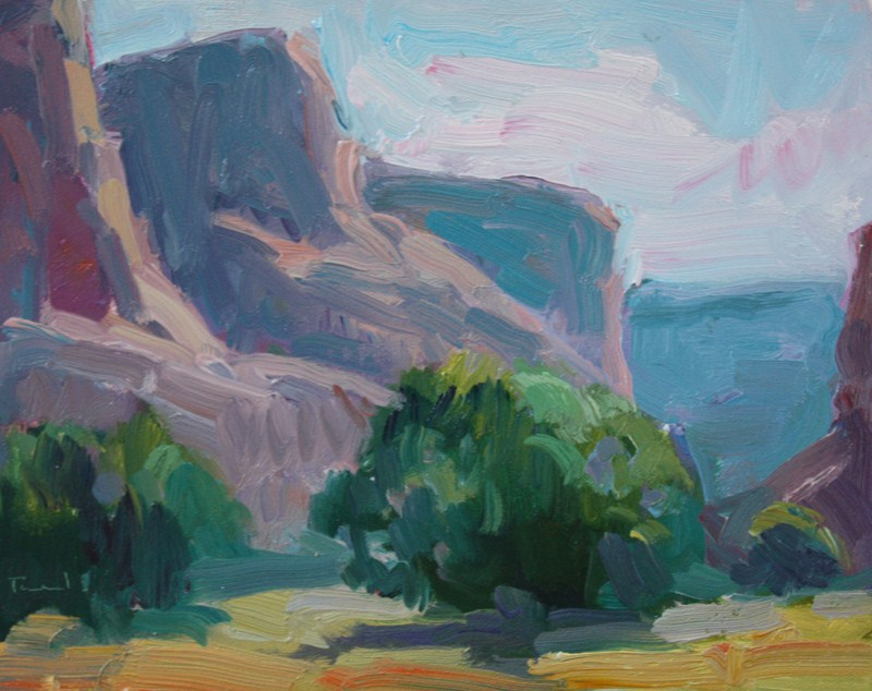 """Canyon de Chelly Sketch 1"" original fine art by Kathryn Townsend"