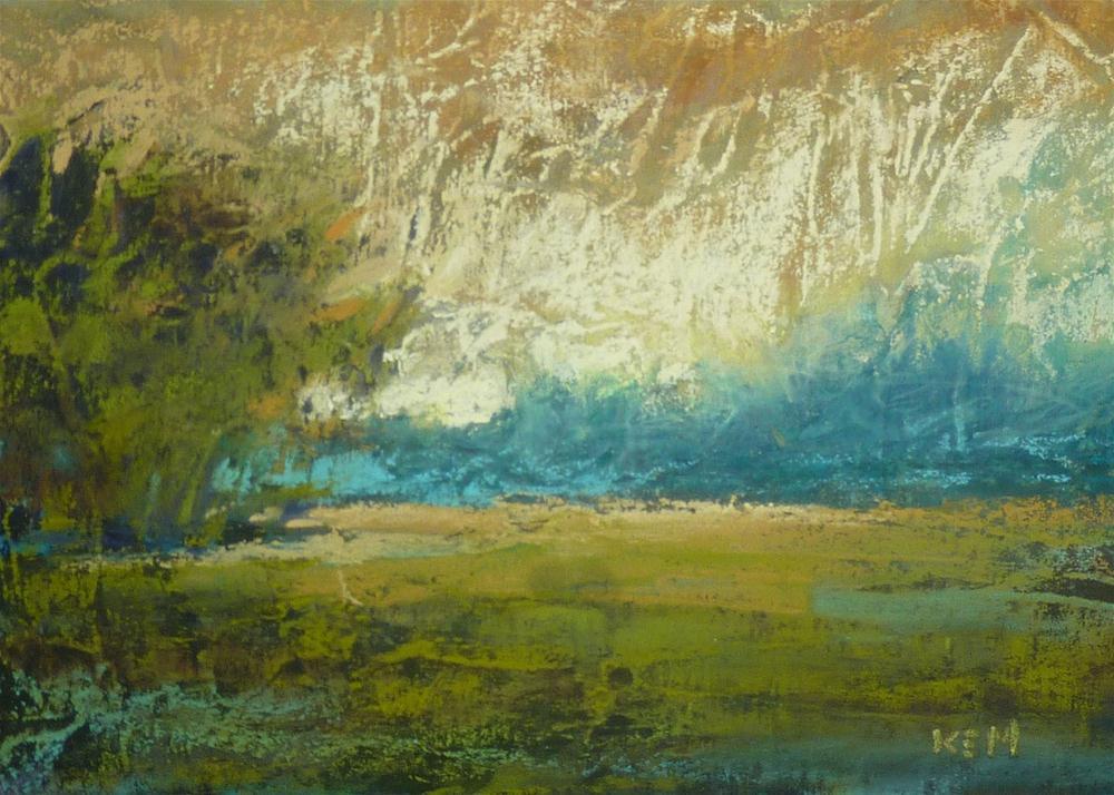 """""""Landscape Variation 1"""" original fine art by Karen Margulis"""