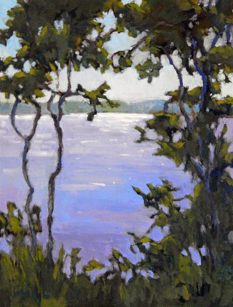 """A Framed View"" original fine art by Lisa Kyle"