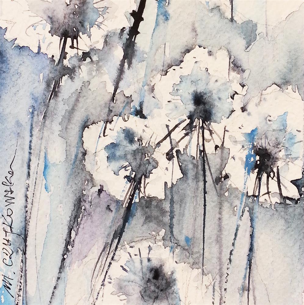 """Dandelion 6"" original fine art by Marlena Czajkowska"