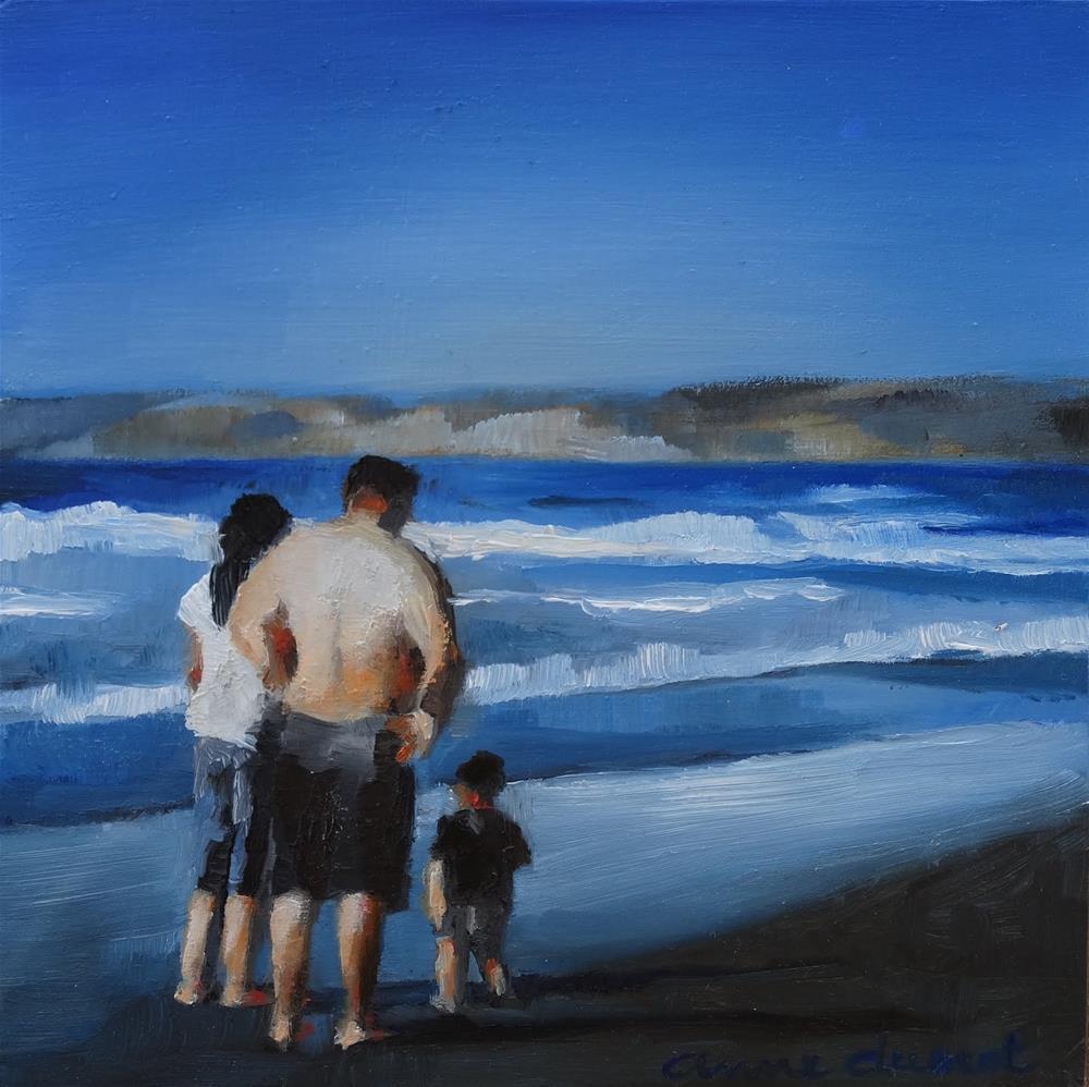 """Tempted"" original fine art by Anne Ducrot"