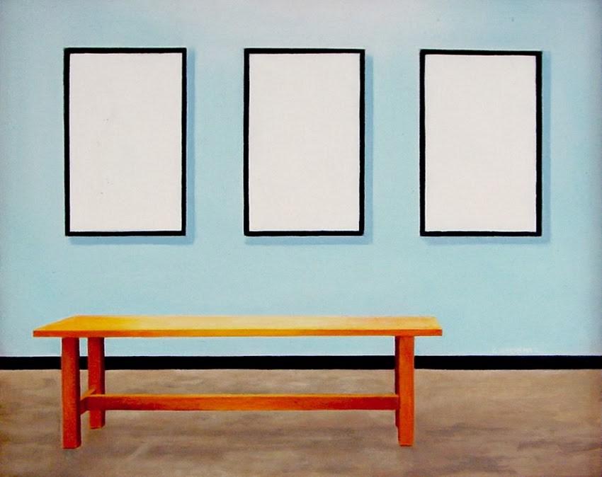 """Empty Museum"" original fine art by Gerard Boersma"