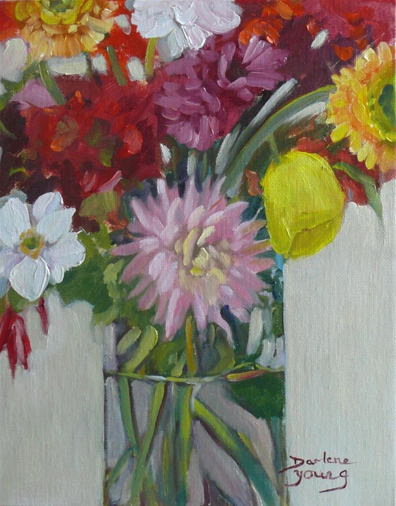 """""""896 Bundle of Joy, oil on board, 8x10"""" original fine art by Darlene Young"""