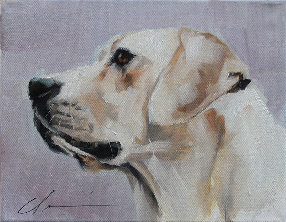 """The Daily Dog - Thirty"" original fine art by Clair Hartmann"