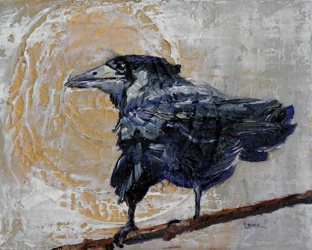 """SACRED JOURNEY OF THE CROW ORIGINAL MIXED MEDIA ON STRETCHED CANVAS © SAUNDRA LANE GALLOWAY"" original fine art by Saundra Lane Galloway"