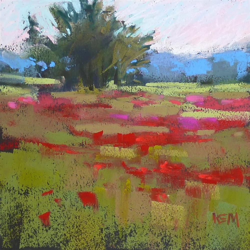 """""""An Idea for Keeping Paintings Simple"""" original fine art by Karen Margulis"""