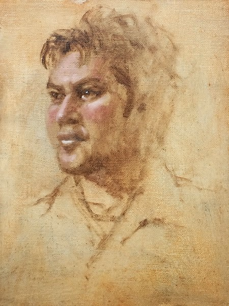"""Hawaiian Carver"" original fine art by Susan Matteson"