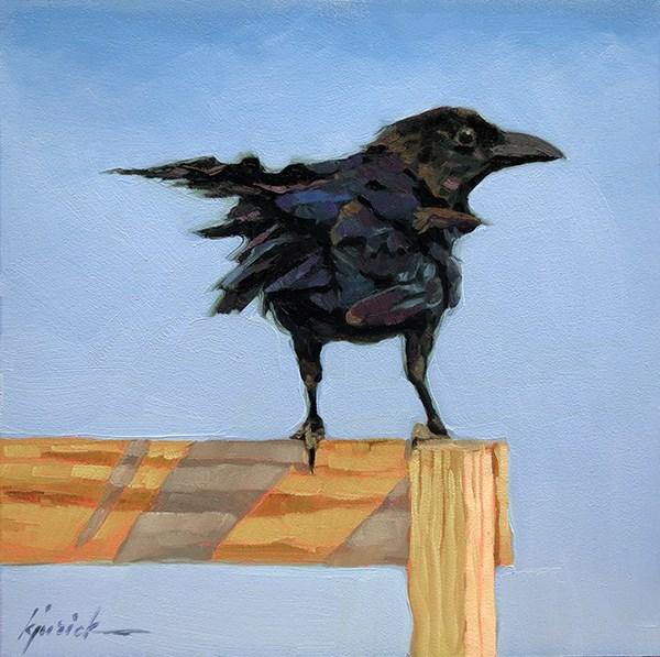 """The Sentinel"" original fine art by Karin Jurick"