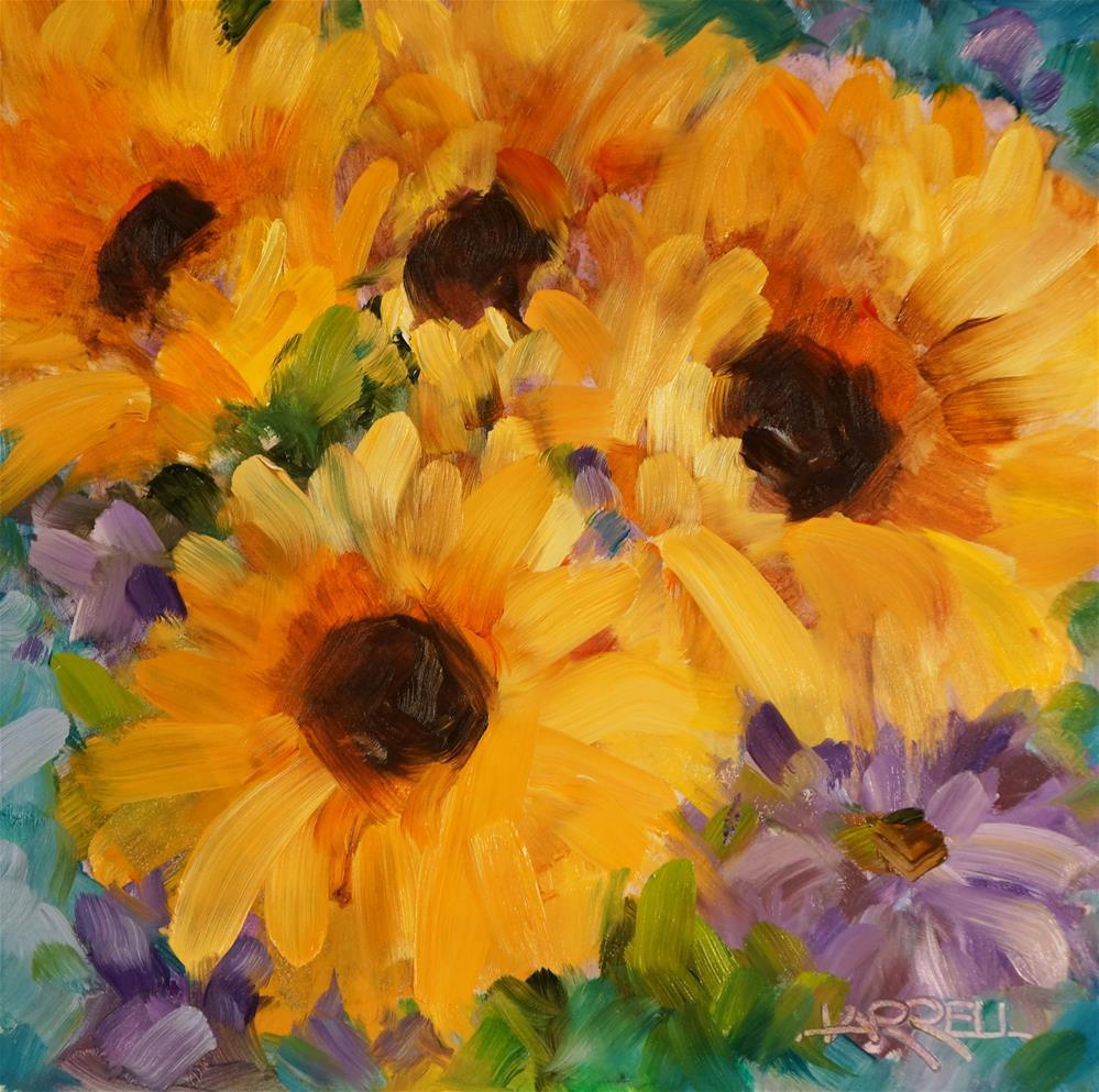 """""""Sun Daze"""" original fine art by Sue Harrell"""