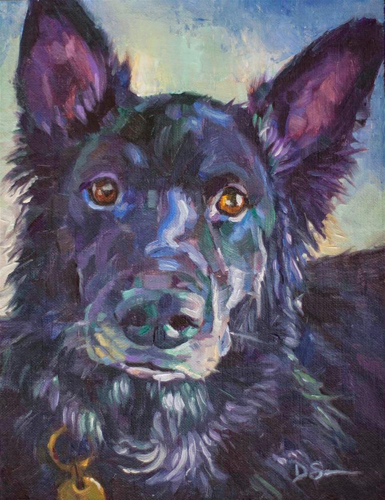 """Visily"" original fine art by Deborah Savo"
