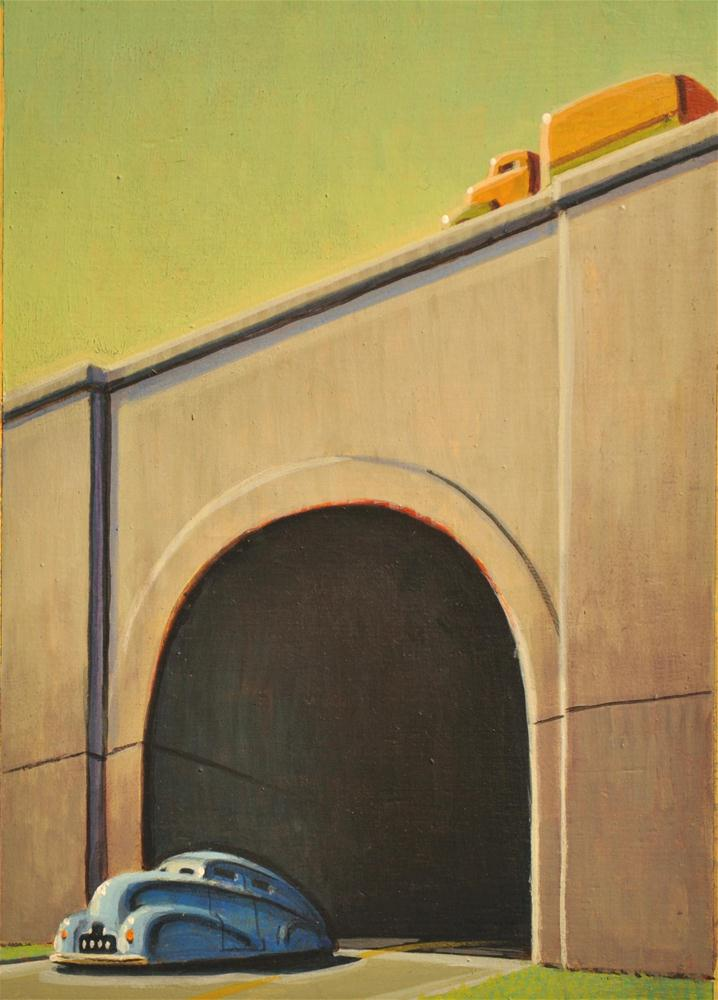 """Cat and Mouse"" original fine art by Robert LaDuke"