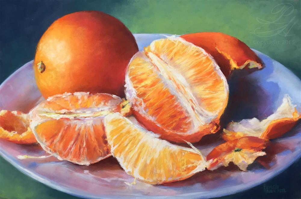"""Sun Kissed"" original fine art by Pamela Hamilton"