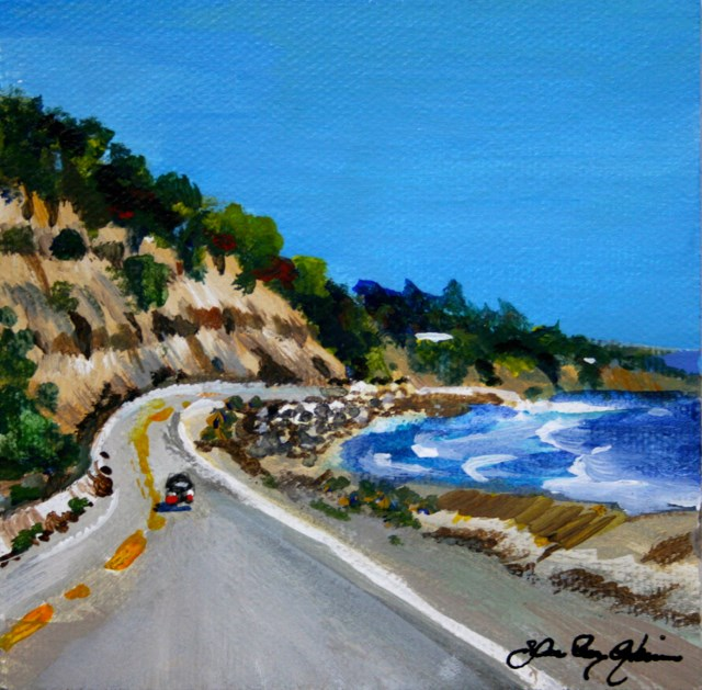 """Highway One"" original fine art by JoAnne Perez Robinson"
