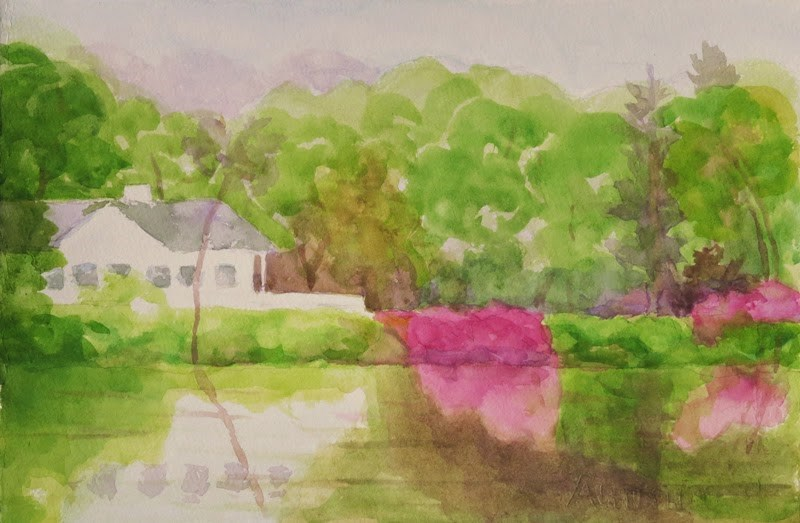 """Setauket Millpond"" original fine art by Katharine Engh"