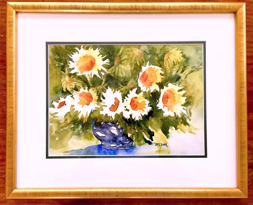"""Feeling Cheerful"" original fine art by Judith Freeman Clark"