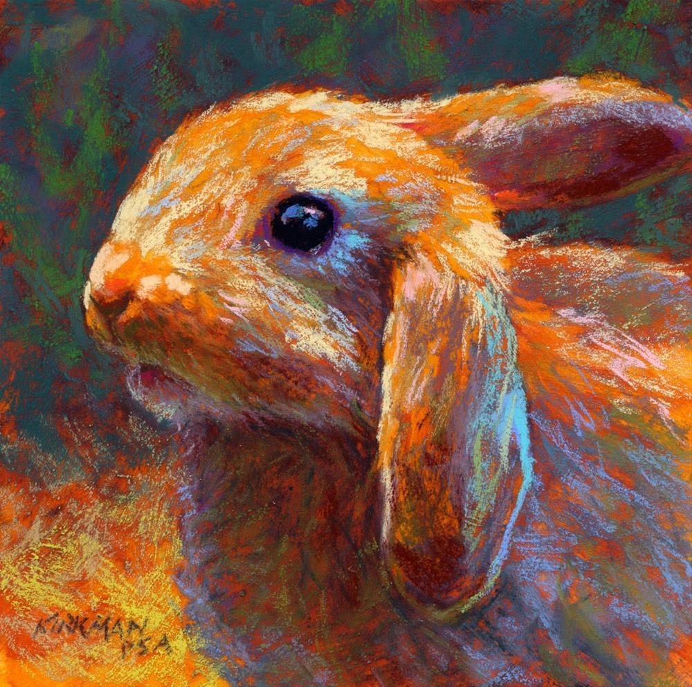 """Cinnabun"" original fine art by Rita Kirkman"