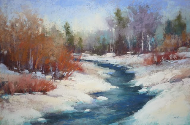 """""""The Value of Time in Painting...A Refinish"""" original fine art by Karen Margulis"""