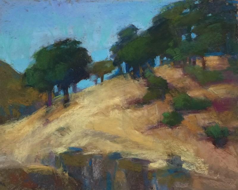 """Klickitat Tree Line"" original fine art by Patti McNutt"