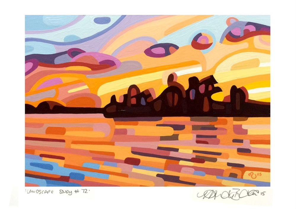 """Landscape Study #72"" original fine art by Mandy Budan"