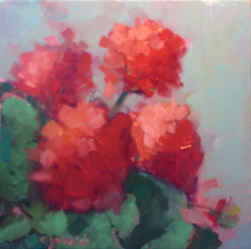 """Red #3"" original fine art by Carol Josefiak"