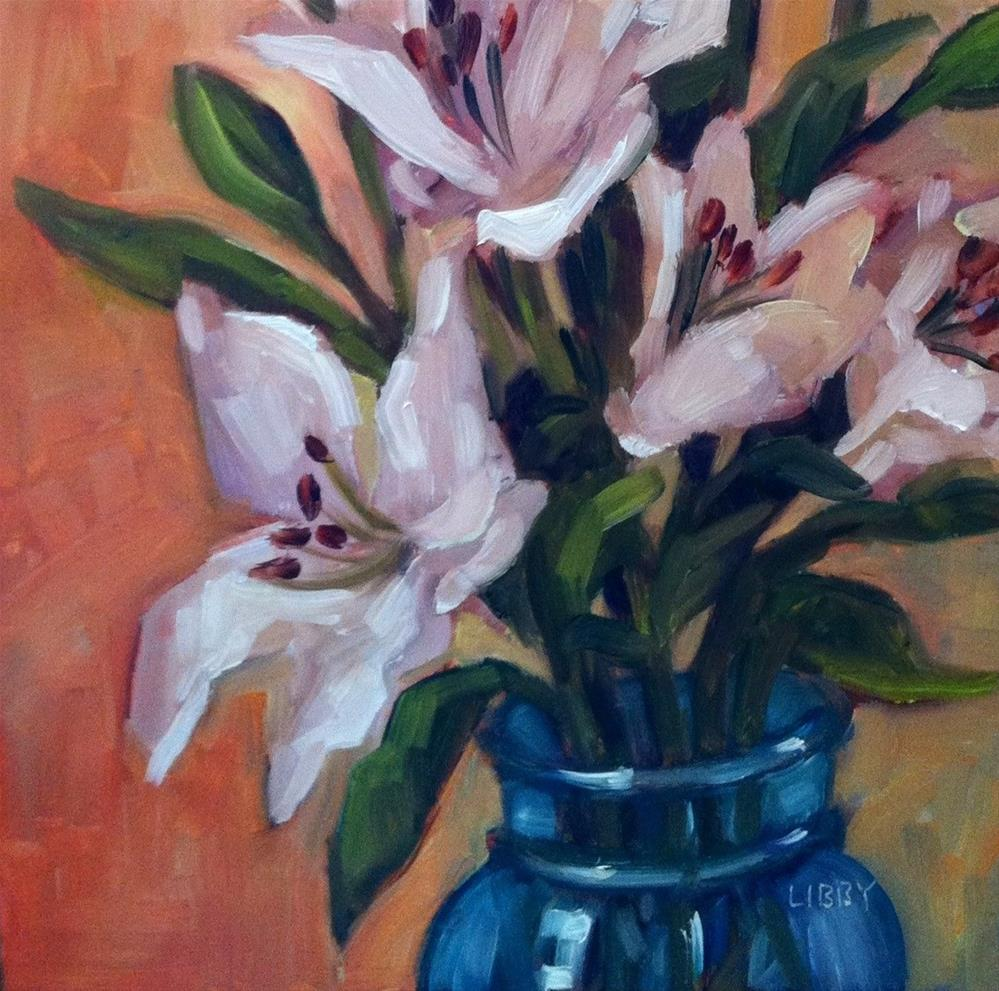 """""""Lily View"""" original fine art by Libby Anderson"""