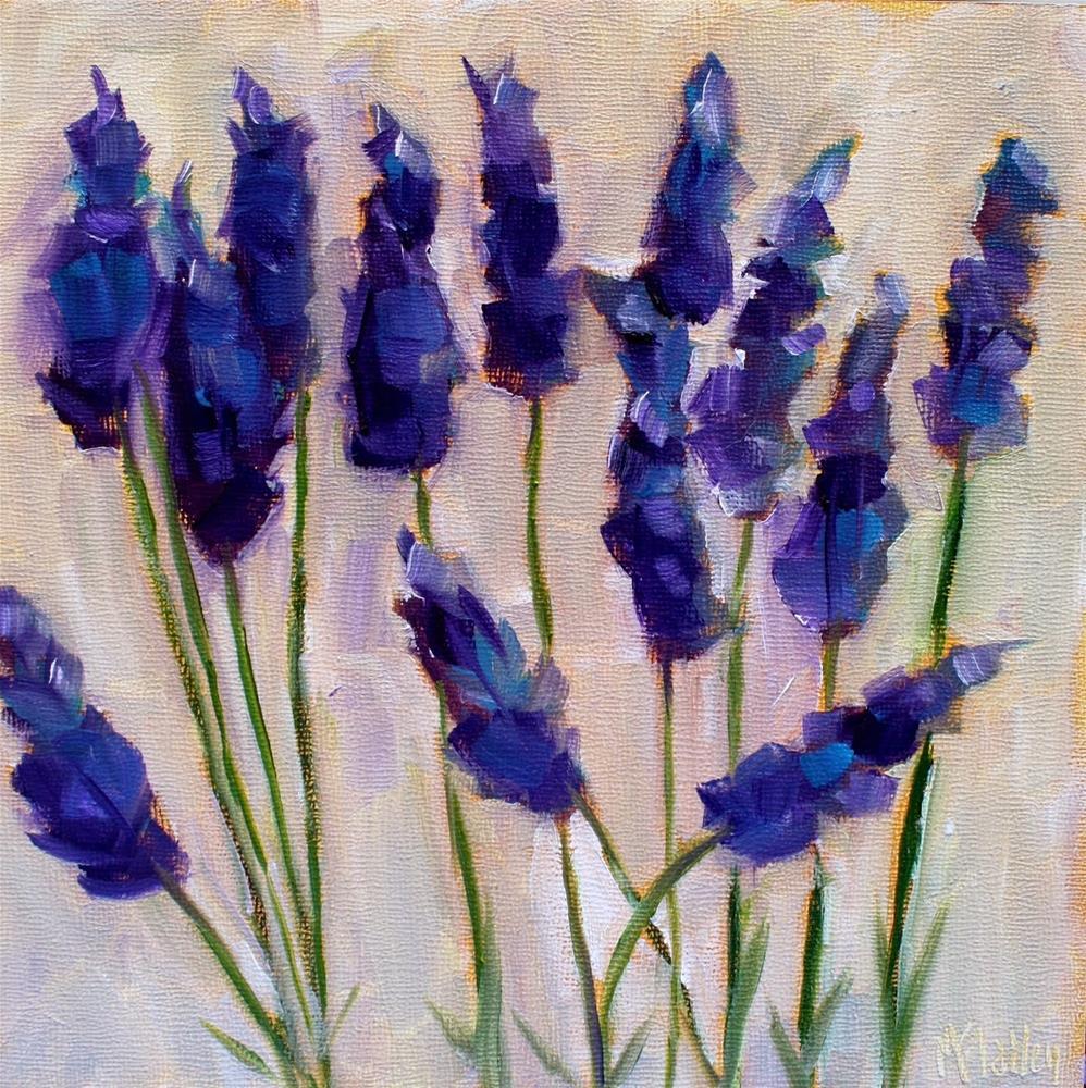 """Lavender"" original fine art by Maggie Flatley"