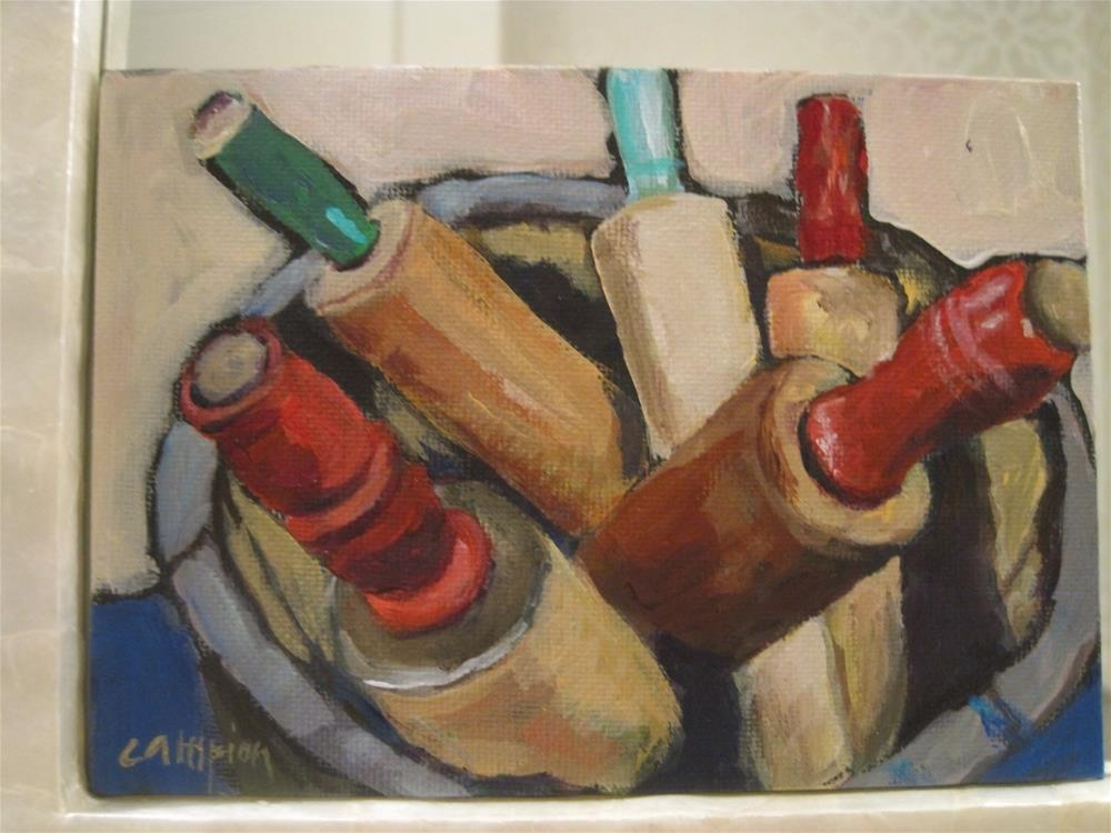 """197 Rolling"" original fine art by Diane Campion"
