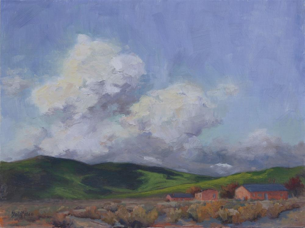 """View from Torrey"" original fine art by Sheila Marie"