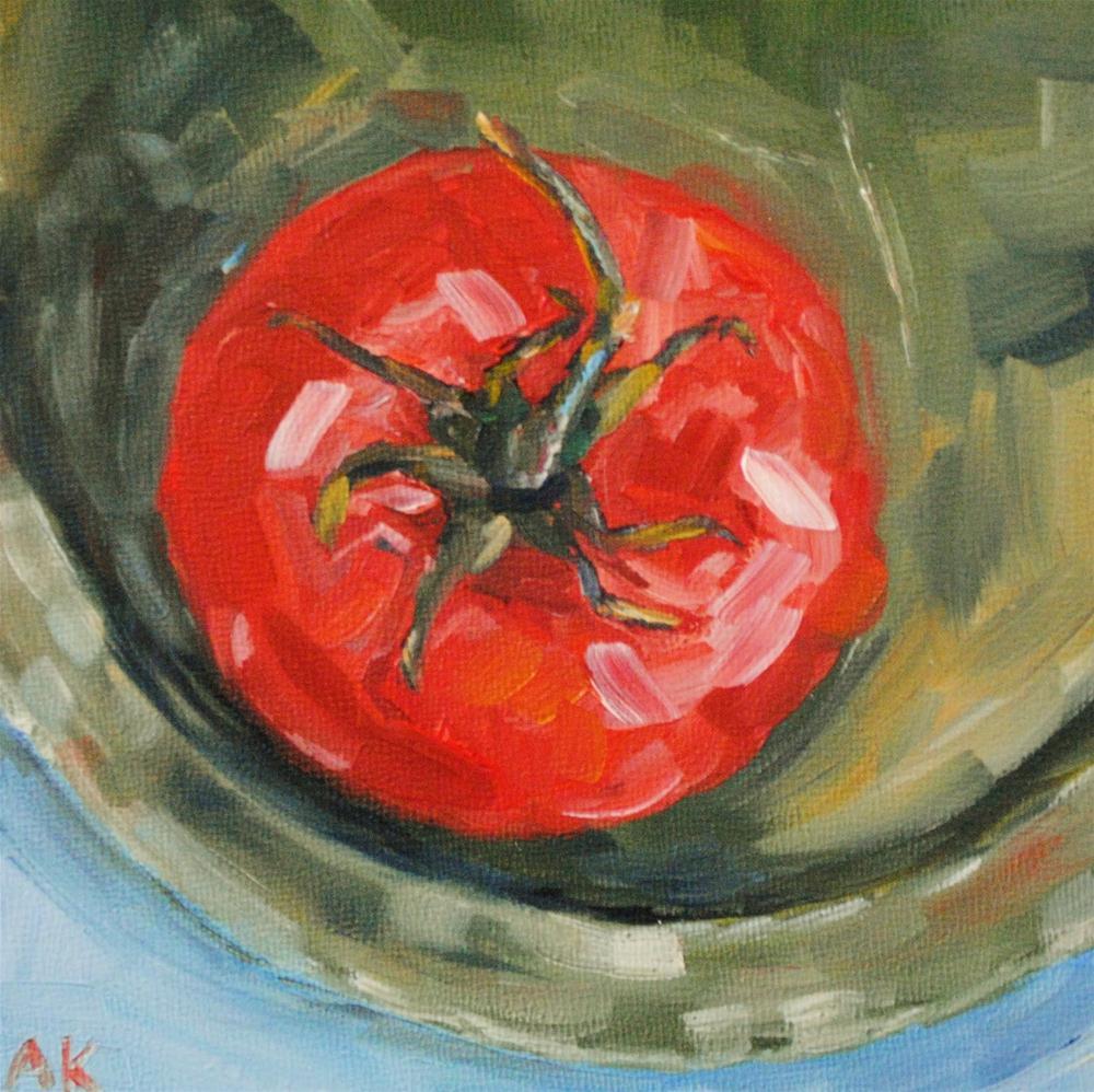"""On The Edge"" original fine art by Alison Kolkebeck"
