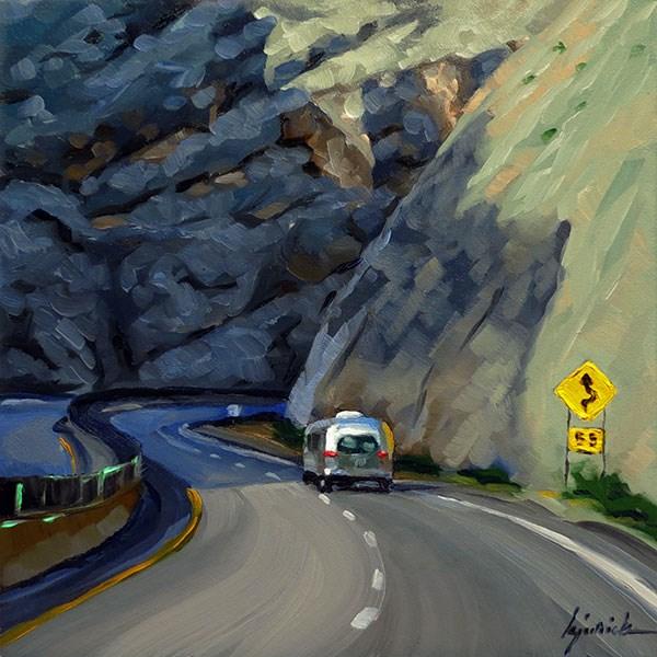 """Travelers"" original fine art by Karin Jurick"