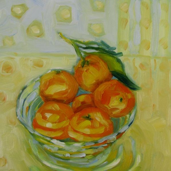 """My Clementine II"" original fine art by Mb Warner"