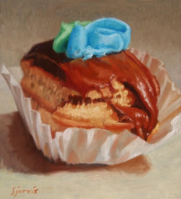 """Temptation"" original fine art by Susan N Jarvis"